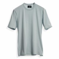 Todd Shelton - T-Shirts - Pale Aqua Short Sleeve Crew