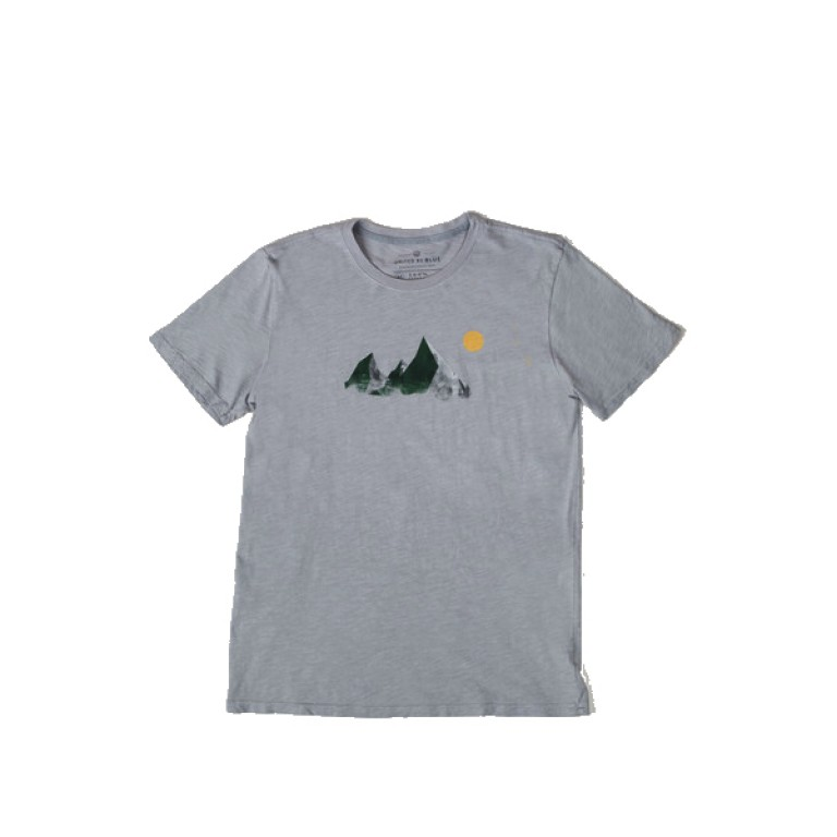 United By Blue - T-Shirts - Mountain Peak Tee
