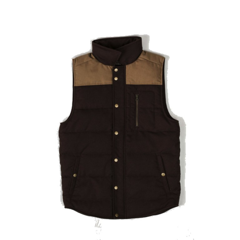 United by Blue - Coats and Jackets - Drummond Colorblock Wool Vest