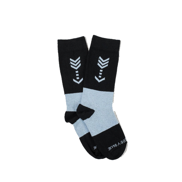 United by Blue - Underwear and Socks - Bartrams Socks Aqua Arrow