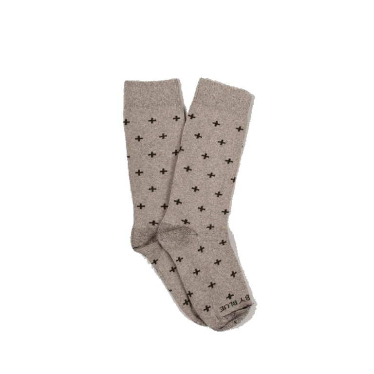 United by Blue - Underwear and Socks - Bartrams Socks Oatmeal Cross