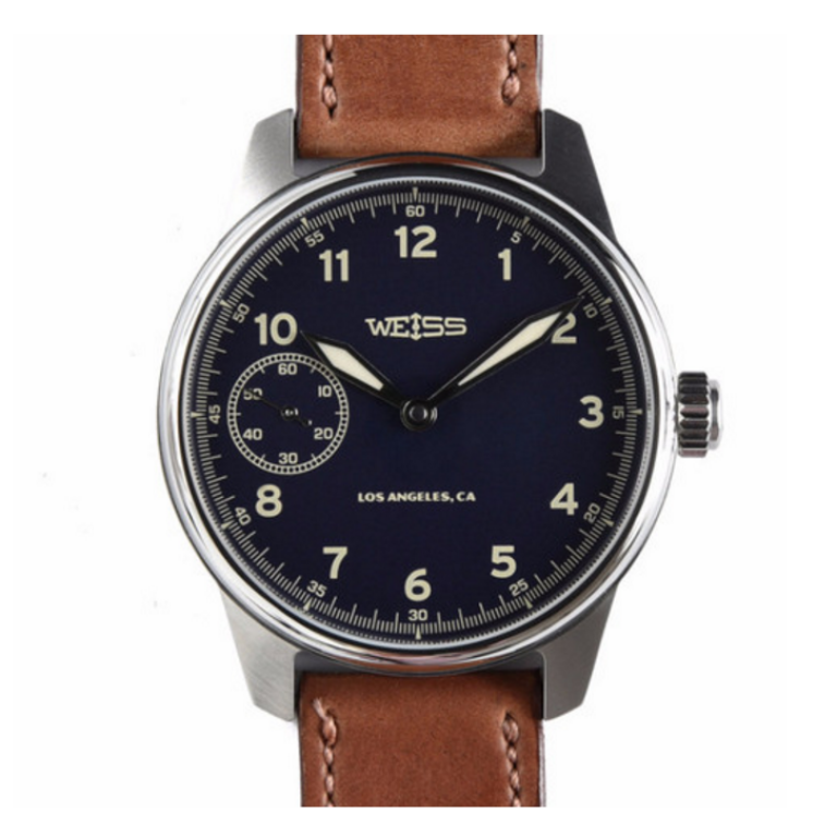Weiss Watch Company - Watches - Limited Issue Field Watch Dark Blue Dial