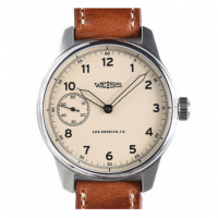 Weiss Watch Company - Watches - Weiss Special Issue Field Watch Latte Dial