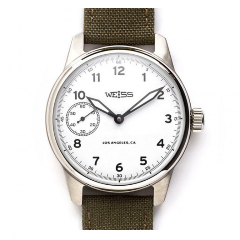 Weiss Watch Company - Watches - Weiss Standard Issue Field Watch White Dial