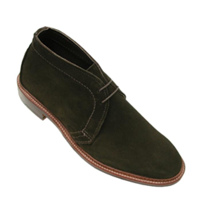 Alden - Boots - unlined chukka boots green