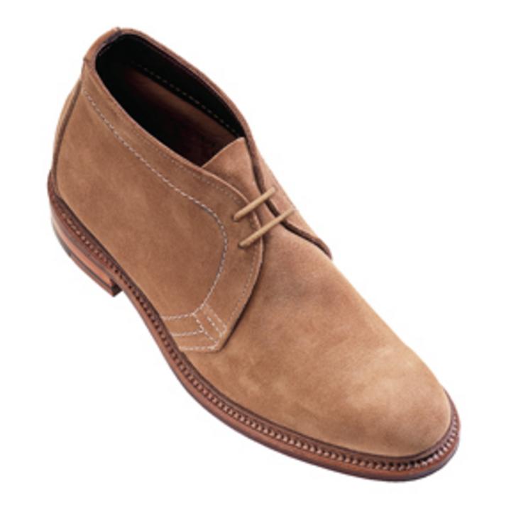 Alden - Boots - unlined chukka boots tan