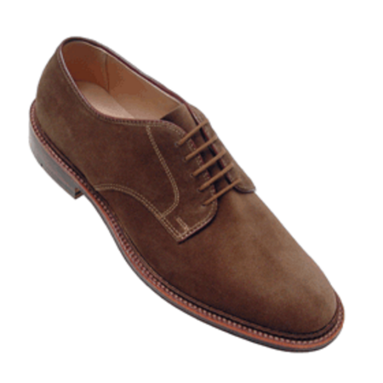 Alden - Casual Shoes - plain toe blucher tan