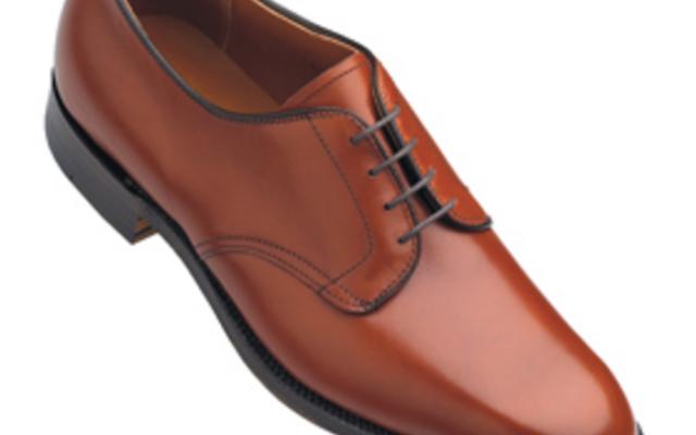 Alden - Dress Shoes - plain toe blucher oxford