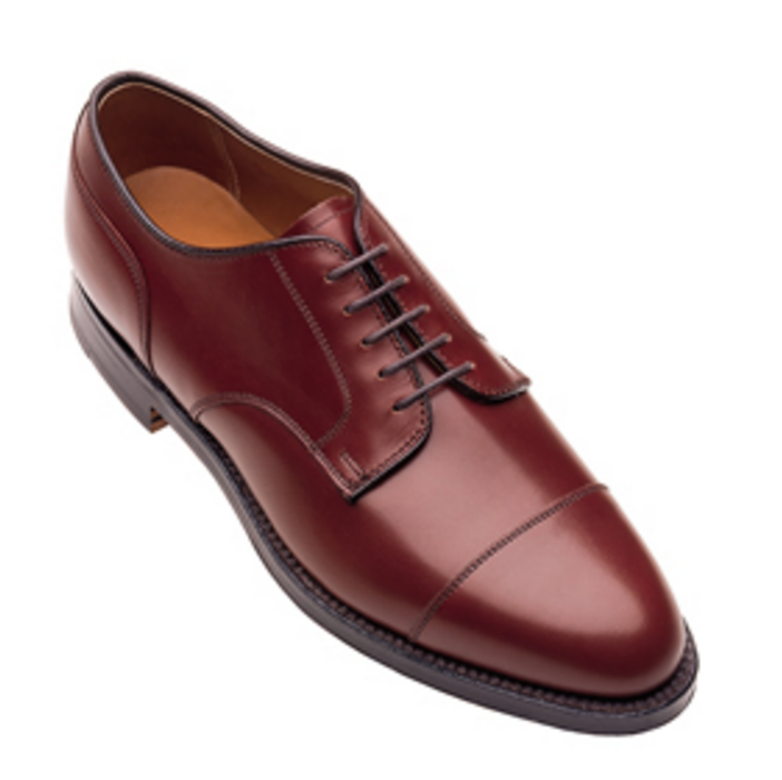 Alden - Dress Shoes - straight tip blucher oxford
