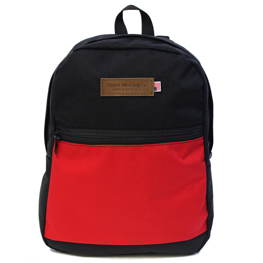 Copper River Bags - Wallets and Bags - Red Pocket Backpack