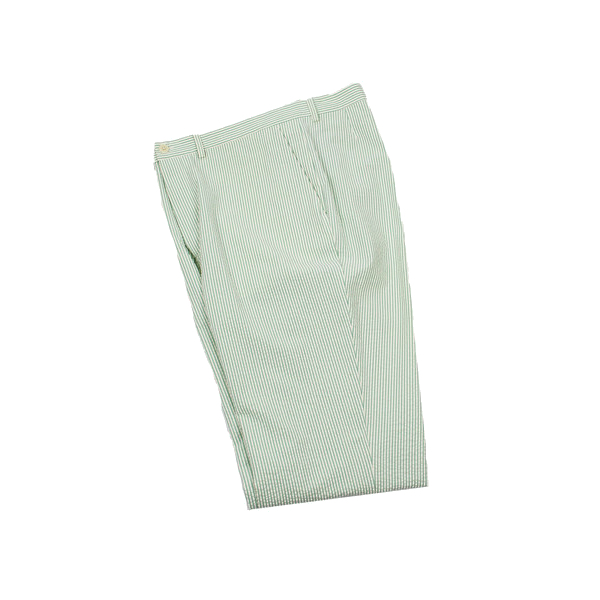Haspel - Pants - Bernard Trouser Green Seersucker