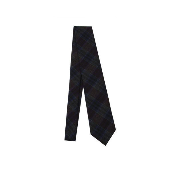 Haspel - Ties and Pocket Squares - Burg Teal Plaid