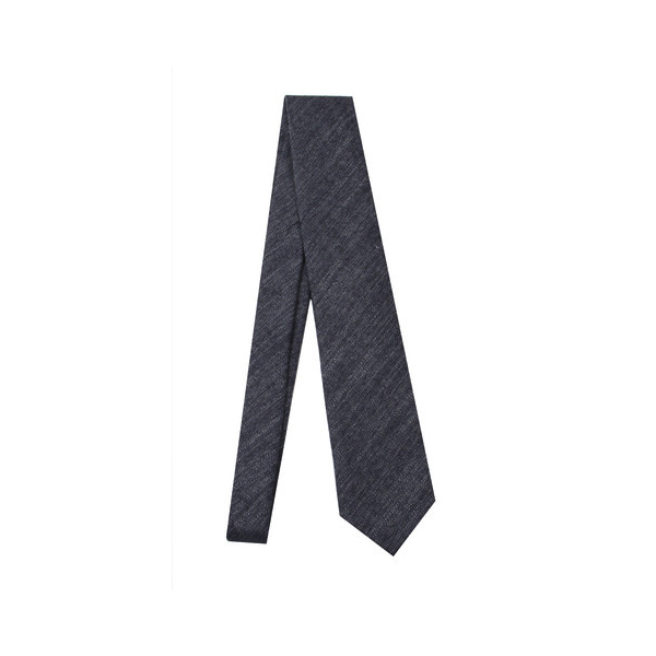 Haspel - Ties and Pocket Squares - Worn Navy