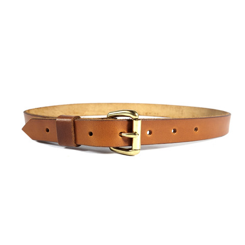 red clouds collective lim classic saddle tan leather belt