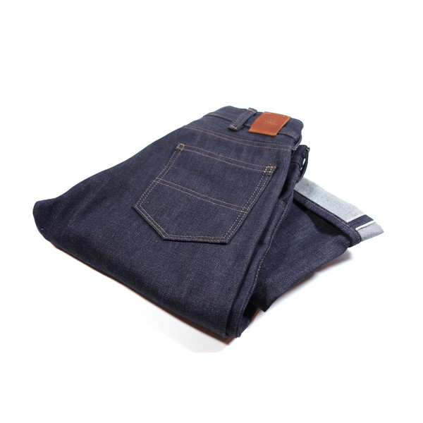 red clouds collective gn 02 selvedge denim pants folded