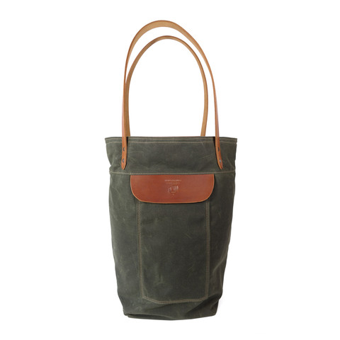 red clouds collective over the shoulder tote bag