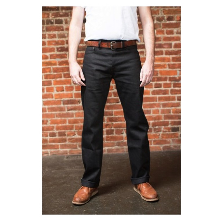 tellason ankara black japanese selvedge denim jeans