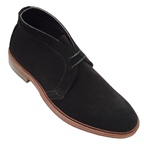 alden unlined black chukka boot