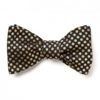 allen edmonds dot bow tie