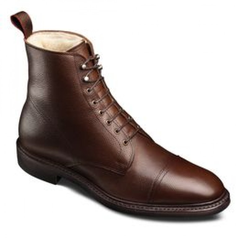 allen edmonds brown first avenue boots