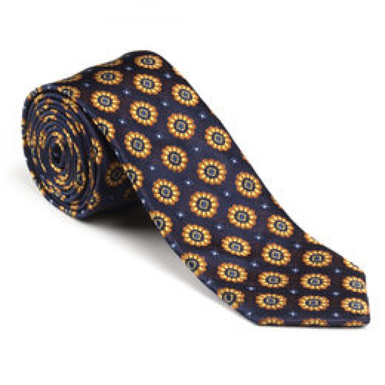 allen edmonds medallion tie
