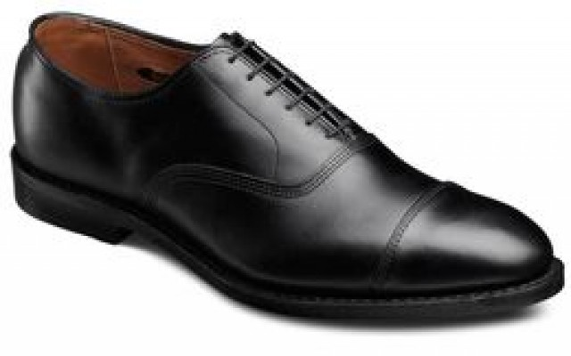 allen edmonds park avenue cap toe oxfords