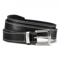 allen edmonds silver spring belt