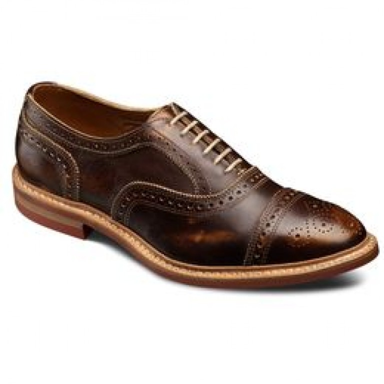 allen edmonds strandmok cap toe oxfords