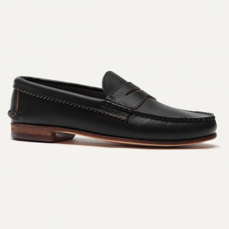 Quoddy - Casual Shoes - True Pennyloafer Black