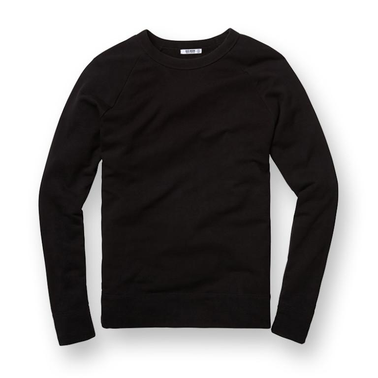 Buck Mason - Sweatshirts - Raglan Sweatshirt Black