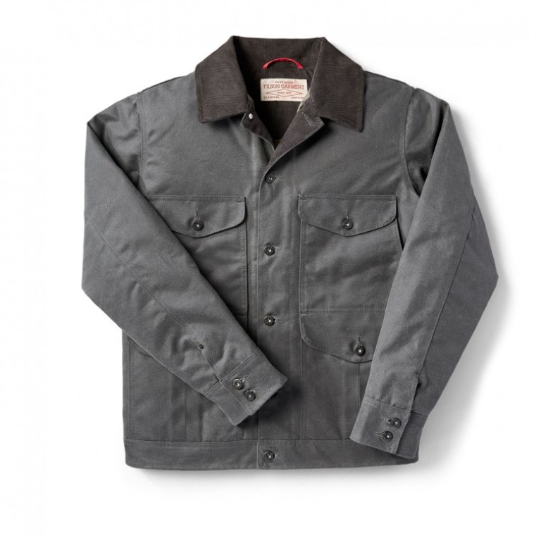 Filson - Coats & Jackets - Journeyman Jacket Charcoal