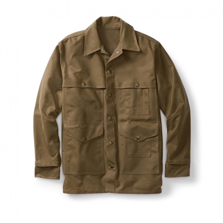 Filson - Coats & Jackets - Tin Cloth Cruiser Alaska Fit Tan